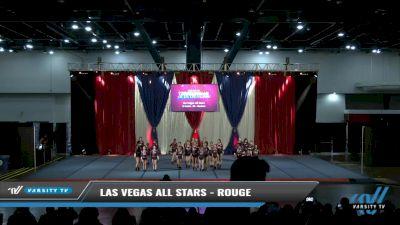 Las Vegas All Stars - Rouge [2021 L2 Junior - D2 - Medium Day 2] 2021 The American Spectacular DI & DII