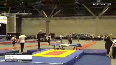 Koa Luu - Double Mini Trampoline, Stars Gymnastics - 2021 USA Gymnastics Championships