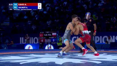 60 kg Final 3-5 - Mert Ilbars, Turkey vs Arslanbek Salimov, Poland