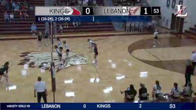 Replay: Lebanon vs Kings | Sep 27 @ 7 PM