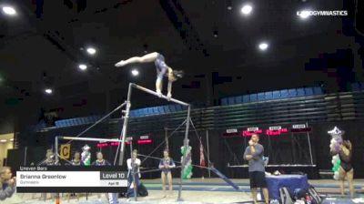 Brianna Greenlow - Bars, Gymnastix - 2019 Tampa Bay Turner's Invitational