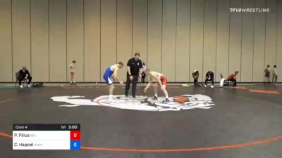 65 kg Consolation - Parker Filius, Boilermaker RTC vs Carter Happel, Hawkeye Wrestling Club