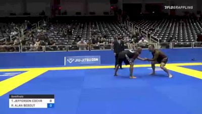 THOMAS JEFFERSON COCHRAN vs ROBERT ALAN BEBOUT 2021 World IBJJF Jiu-Jitsu No-Gi Championship