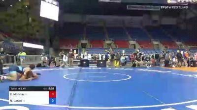 195 lbs Consi Of 8 #1 - Cory Monroe, Oklahoma vs Nicholas Casad, Indiana