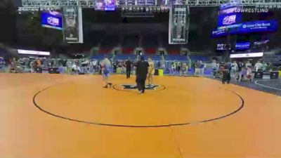 195 lbs Consolation - Nicholas Casad, Indiana vs Caden Rogers, Pennsylvania
