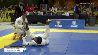 RONALDO PEREIRA DE SOUZA JÚNIOR vs SEBASTIAN GUEVARA LAMPARELLI 2021 Pan Jiu-Jitsu IBJJF Championship