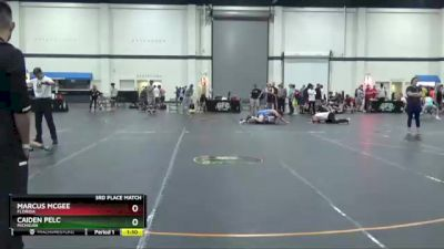 130 lbs 3rd Place Match - Marcus McGee, Florida vs Caiden Pelc, Michigan