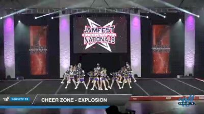 Cheer Zone - Explosion [2021 L3 Youth - D2 - Small Day 2] 2021 JAMfest Cheer Super Nationals