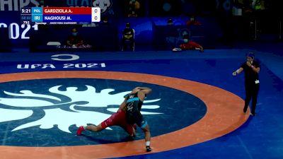 82 kg Repechage #3 - Adam Mateusz Gardziola, Poland vs Mohammad Aziz Naghousi, Iran