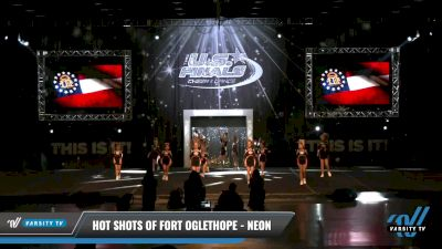 Hot Shots of Fort Oglethope - Neon [2021 L1.1 Youth - PREP - D2 - A Day 1] 2021 The U.S. Finals: Louisville