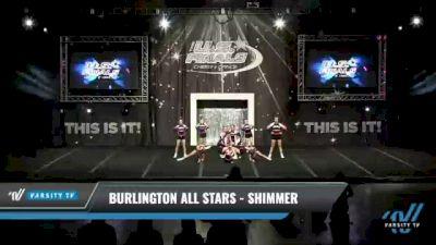 Burlington All Stars - Shimmer [2021 L2 Junior - D2 - Small Day 1] 2021 The U.S. Finals: Kansas City