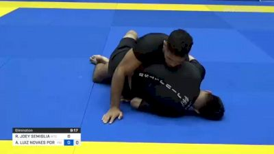 RICKY JOEY SEMIGLIA vs ANDRÉ LUIZ NOVAES PORFIRIO 2021 World IBJJF Jiu-Jitsu No-Gi Championship