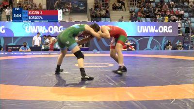 57 kg 1/8 Final - Uladzislava Kudzin, Belarus vs Viktoria Borsos, Hungary