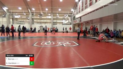 Prelims - Tyler Barnes, NC State vs Sawyer Davidson, UNC Unattached