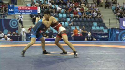 60 kg Final 3-5 - Azizbek Yoldoshev, Uzbekistan vs Rati Khozrevanidze, Georgia