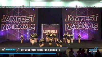 Element Elite Tumbling & Cheer - Junior Platinum [2021 L2 Junior - D2 - Medium Day 2] 2021 JAMfest: Louisville Championship