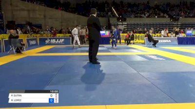 PABLO DUTRA vs RENE LOPEZ 2018 Pan Jiu-Jitsu IBJJF Championship