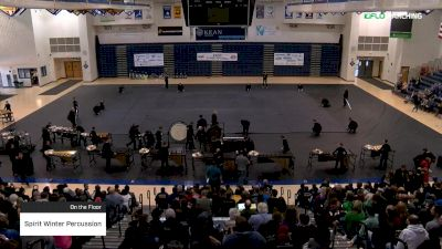 Spirit Winter Percussion at 2019 WGI Percussion|Winds East Power Regional