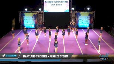 Maryland Twisters - Perfect Storm [2021 L2.2 Senior - PREP 1] 2021 ACDA: Reach The Beach Nationals