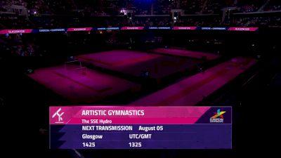 Day 2: 2018 UEG Artistic Gymnastics European Championships, Women