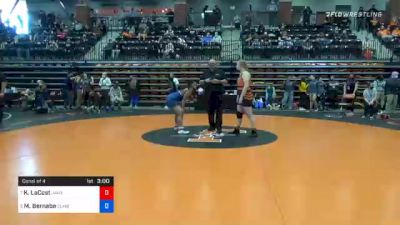 191 lbs Consolation - Kelly LaCost, Jamestown vs MaQuoia Bernabe, Cumberlands