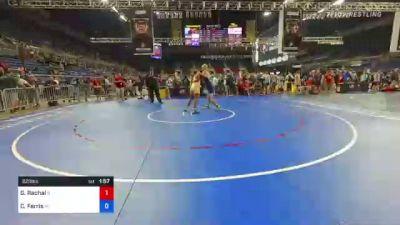 220 lbs Consi Of 16 #2 - Ghee Rachal, Illinois vs Caden Ferris, Michigan