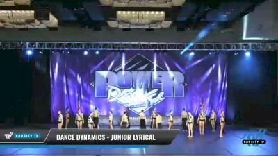 Dance Dynamics - Junior Lyrical [2021 Junior - Contemporary/Lyrical Day 2] 2021 ACP Power Dance Nationals & TX State Championship