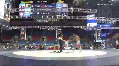 120 lbs Consolation - Dillon Campbell, Ohio vs Jett Strickenberger, Colorado