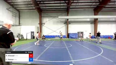 152 lbs Consolation - Robert Wiessel, Shore Thing WC vs Colin Reeser, Jackson Liberty