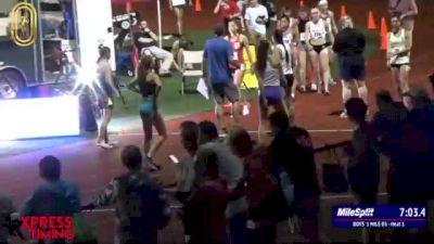 High School Girls' Mile, Finals 2