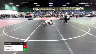 160 lbs Prelims - Joseph Lashuay, IL vs Cole Cochran, GA