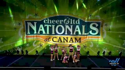 Diamonds All Stars - Glamour [2021 L2.2 Junior - PREP Day 1] 2021 Cheer Ltd Nationals at CANAM