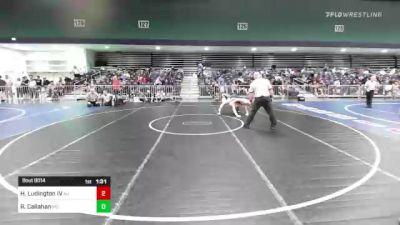 170 lbs Round Of 128 - Harvey Ludington IV, NJ vs Reese Callahan, MO