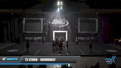 T3 Storm - Snowburst [2021 L2 Youth - Small Day 1] 2021 The U.S. Finals: Sevierville