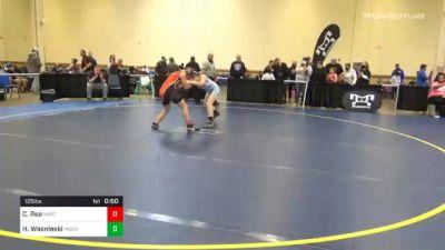 125 lbs Consolation - Cydney Rea, Northwestern vs Hannah Wasnieski, Moon