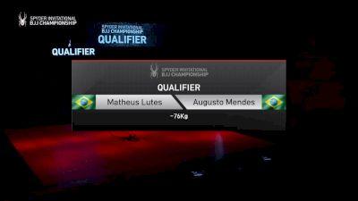 Matheus Lutes vs Augusto Mendes 2019 Spyder BJJ Qualifier