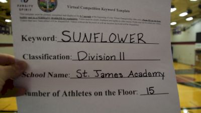 St. James Academy [Division II Dance] 2020 KSHSAA Game Day Spirit Virtual Showcase