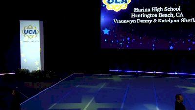 Marina High School [2020 Medium Varsity Non Tumbling Finals] 2020 UCA National High School Cheerleading Championship