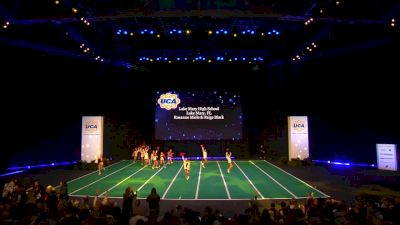 Lake Mary High School [2020 Junior Varsity Game Day Finals] 2020 UCA National High School Cheerleading Championship