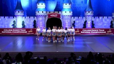 Worcester State University [2019 Open Hip Hop Semis] UCA & UDA College Cheerleading and Dance Team National Championship