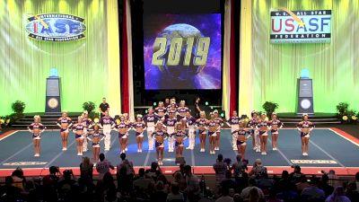 Spirit of Texas - Royalty [2019 L5 Senior Medium Coed Finals] 2019 The Cheerleading Worlds