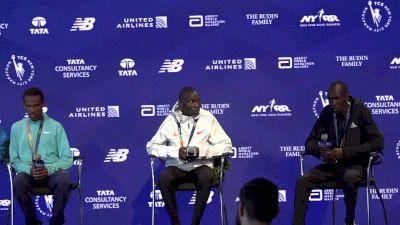NYC Marathon Men's Podium Press Conference