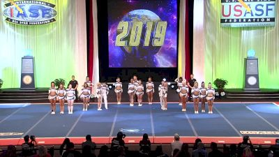 Bellevue Open - Bellevue IOC6 [2019 L6 International Open Small Coed Semis] 2019 The Cheerleading Worlds