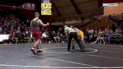 285lbs - Christian Colucci (Rutgers) vs Allan Beattie (Pitt-Johnstown)