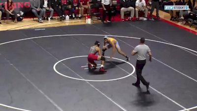 157lbs Match: Michael Van Brill, Rutgers vs Dominick DeMarco, Long Island