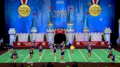 Aloha High School [2020 Medium Game Day Division I Finals] 2020 UCA National High School Cheerleading Championship
