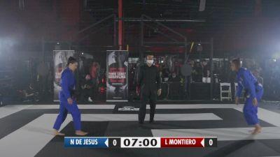 Luiza Monteiro vs Nathiely de Jesus | Semifinal | 3CG Kumite VII
