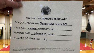 Sheboygan South High School [Virtual Large Varsity Coed Semi Finals] 2021 UCA National High School Cheerleading Championship