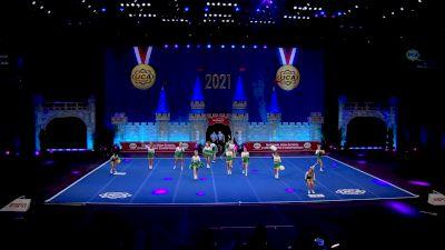 Rhea County High School [2021 Small Varsity Coed Finals] 2021 UCA National High School Cheerleading Championship