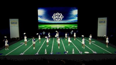 Forrest High School [2021 Small Non Tumbling Game Day Semis] 2021 UCA National High School Cheerleading Championship